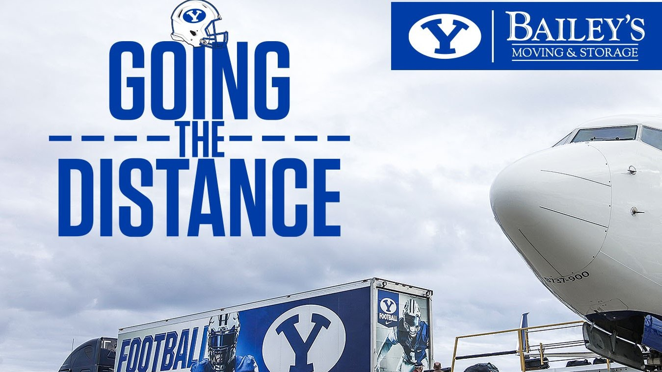 Bailey's Moving get the BYU Truck on time to Carolina for football game