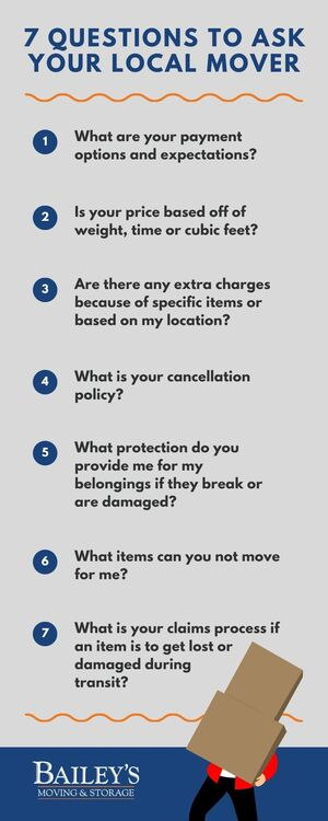 7 questions to ask your local mover
